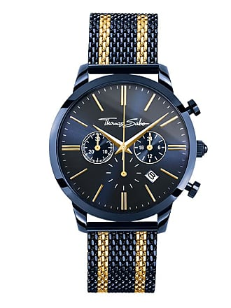 90585594bf5a Thomas Sabo Thomas Sabo Reloj para señor azul WA0290-286-209-42 MM