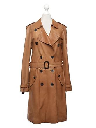 de4c1fc8fb95ab Burberry gebraucht - Mantel aus Leder - DE 34 - Damen - Braun - Leder
