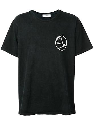 Rhude Camiseta com logo estampado - Preto