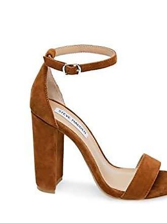 8901a8e445c Steve Madden Womens Carrson Heeled Sandal Chestnut Multi 10 M US