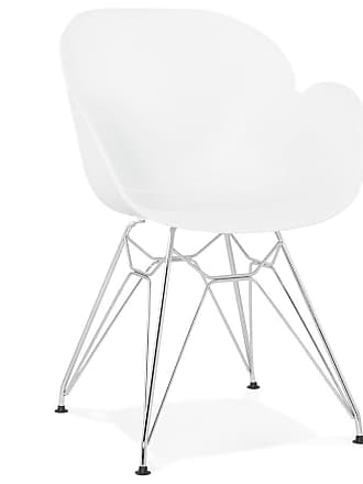 Bureaustoel Wit Leer Metalen Voet.Stoelen In Wit 496 Producten Van 10 Merken Stylight