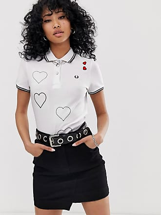db321f2e0 Fred Perry x Amy Winehouse Foundation embroidered heart polo