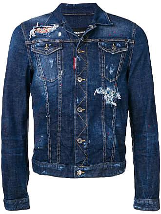 Vestes En Jean Dsquared2 pour Hommes   58 articles   Stylight d8055df2b8ac