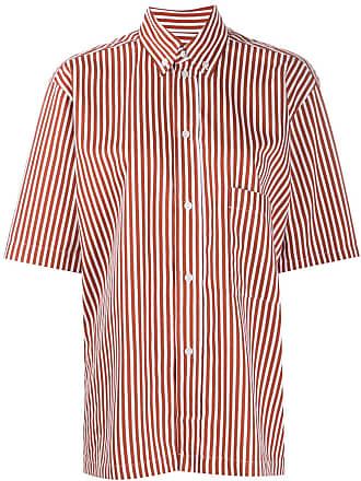 Plan C Camisa mangas curtas - Marrom