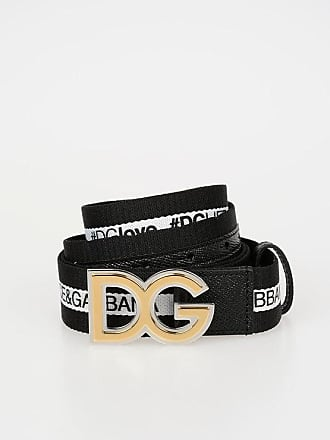 Dolce & Gabbana 35mm Fabric Belt size 85