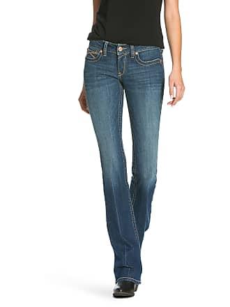 04973551cfa Ariat Womens R.E.A.L Low Rise Shea Boot Cut Jeans in Bella Cotton
