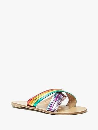 Forever 21 Forever 21 Metallic Rainbow Sandals Rainbow