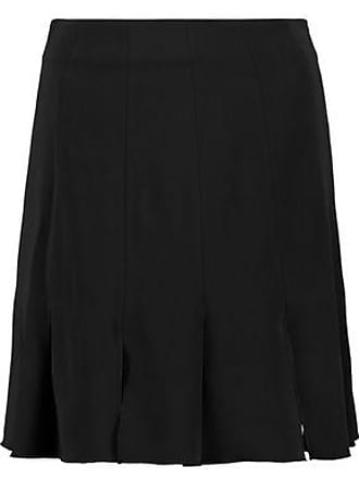 Rachel Zoe Rachel Zoe Woman Brielle Pleated Stretch-crepe Mini Skirt Black Size 6