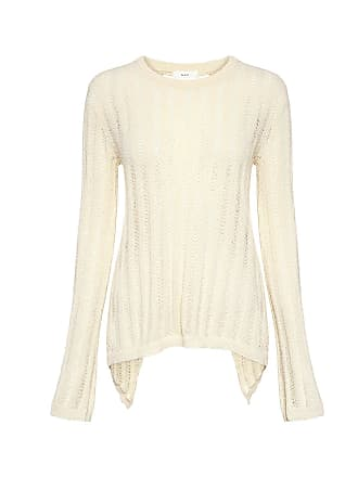 A.L.C. Miguel Lace-up Back Sweater Natural
