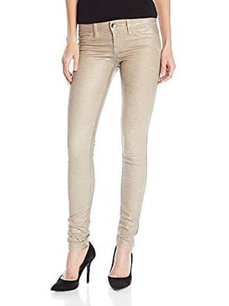 Level 99 Womens Janice Legging Jean with Faux Pocket, Khaki Koi, 28