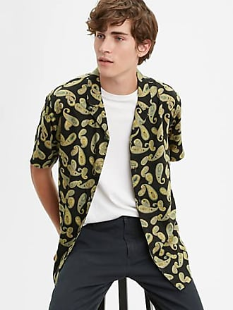 Levi's Cubano Shirt - Schwarz / Schwarz