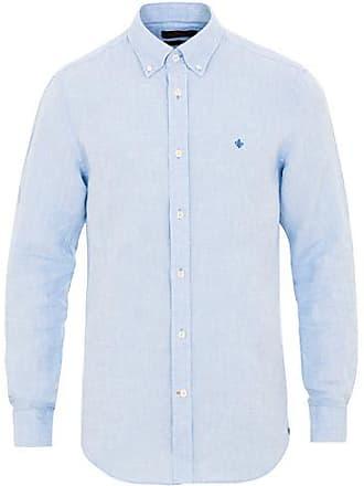 Morris Douglas Linen Shirt Light Blue f2f6eefe0b8c8