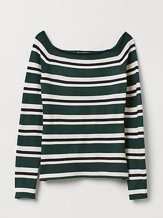H&M Off-the-shoulder Top - Green