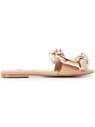 9b1a7c1dc701 See By Chloé ruffle flower sandals - Neutrals