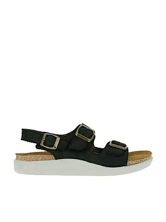 367d4bcf89771 El Naturalista N5091 Pleasant Black KOI Black Woman 43 Sandals Buckle