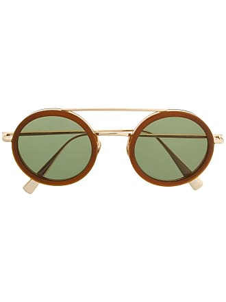Kaleos Óculos de sol aviador - Dourado