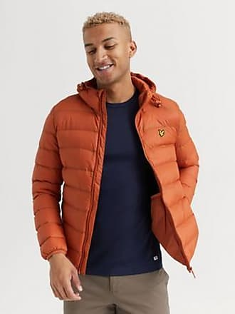 Lyle & Scott JACKA Lightweight Puffer Jacket Brun