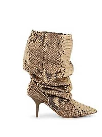 f762a8b4cb00e Yeezy by Kanye West Womens Track Pant Tech-Fabric Knee Boots - Neut. pat