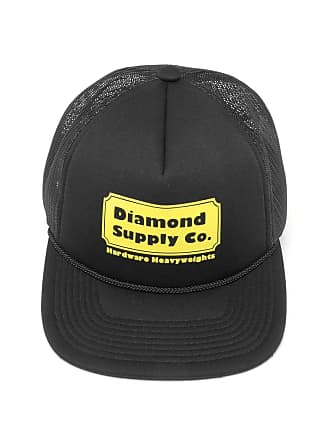 89b0909490596 Diamond Supply Company Boné Diamond Supply Co Trucker Hardware Preto