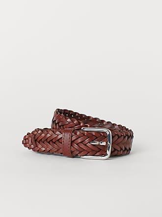 H&M Braided Belt - Brown