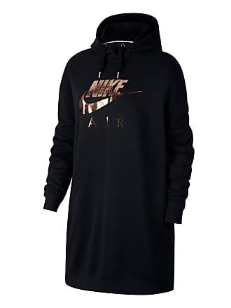 Nike Sweat long à capuche à teneur en coton siglé ... ae90ad83847e