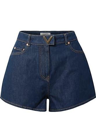 Valentino Denim Shorts - Dark denim