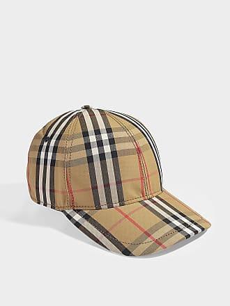 36041010b3ac Burberry Casquette de Baseball Vintage Check en Coton Beige
