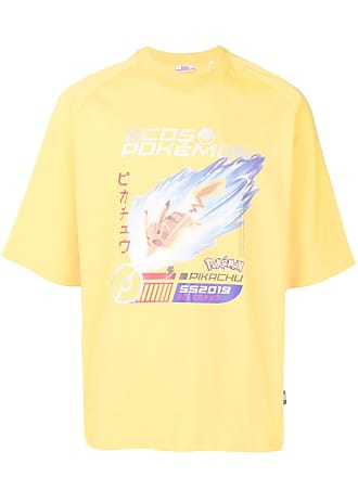 GCDS printed Pokémon T-shirt - Yellow