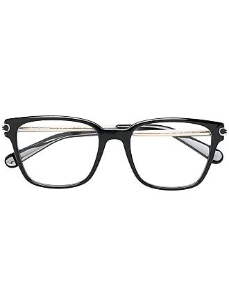 Salvatore Ferragamo Armação de óculos quadrada - Preto