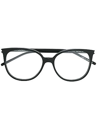 Saint Laurent Eyewear Óculos de grau gatinho - Preto