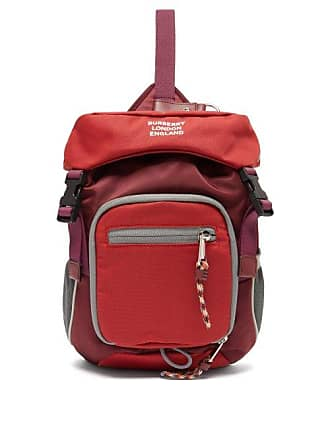 3a4a8bb603b7 Burberry Mini Cross Body Backpack - Mens - Red Multi
