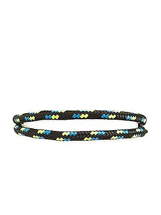 21 Men Men Drawcord Layered Bracelet at Forever 21 Black/green