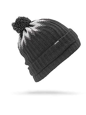 d14ef11f16a5 Volcom Mens Jump Stalker Roll Over Fit 2 in 1 Beanie, Black, One Size