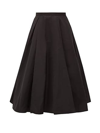 d725b86c1f Rochas Polium Full Technical Taffeta Midi Skirt - Womens - Black