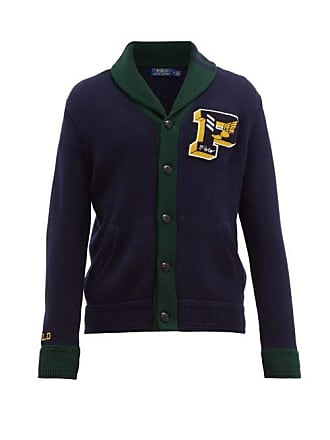 Polo Ralph Lauren Logo Appliqué Cotton Cardigan - Mens - Navy