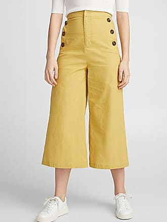 Icone Golden yellow gaucho pant