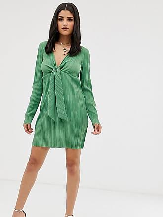 bae217ba2ac Asos Tall ASOS DESIGN Tall mini knot plisse dress