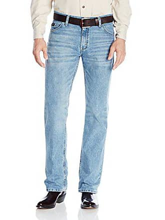 Wrangler Mens 20X Cool Vantage Competition Slim Fit Ocean Blue Jean, Ocean Blue, 32x36