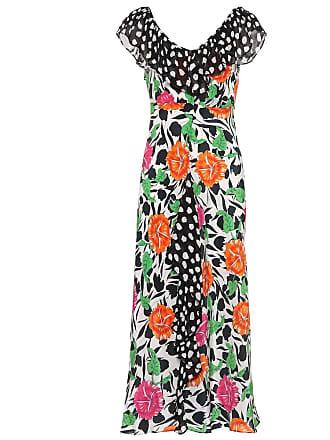 Rixo Antoinette floral silk dress
