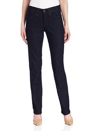 NYDJ Womens Marilyn Straight Leg Denim Jeans, Blue Denim, 14