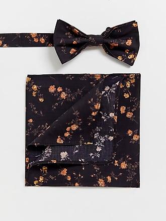 4796dbe3cec6 Gianni Feraud liberty print bow tie and pocket suqare
