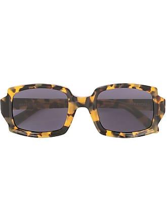 Karen Walker Óculos de sol retangular Sidney - Marrom