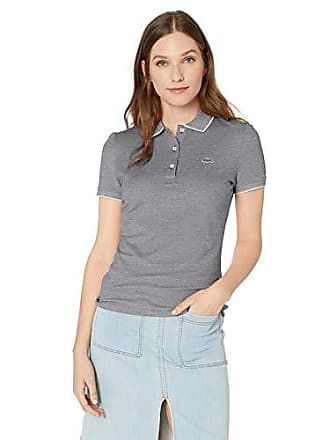914a25158 Lacoste Womens S S Slim FIT Caviar Pique SEMI Fancy Polo