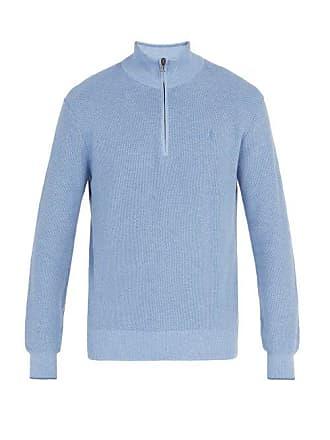 Polo Ralph Lauren Pull en coton pima semi-zippé à broderie logo 54b0081f34e