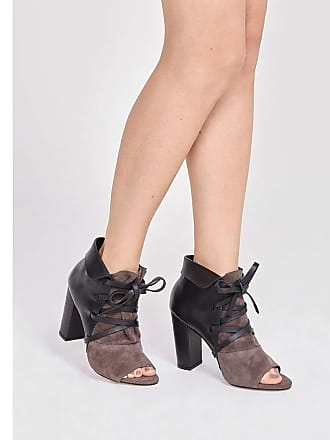Pop Up Store ANKLE BOOT LEATHER-PRETO-38