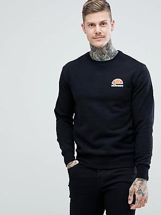 Ellesse Sweatshirt mit kleinem Logo in Schwarz - Schwarz 813a907a49