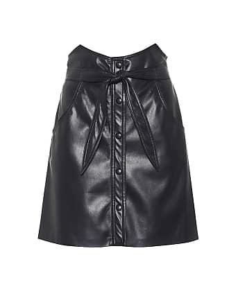 Nanushka Chai faux leather miniskirt