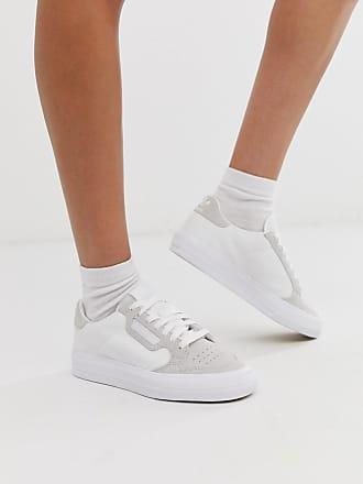 adidas Originals Continental 80 Vulc sneaker in white