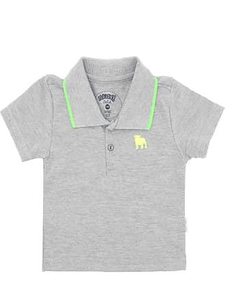 05e33496ed795 ALAKAZOO Camisa Polo Alakazoo Menino Cinza