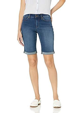 2e062d259 NYDJ Womens Briella ROLL Cuff Jean Short, Cooper, 2